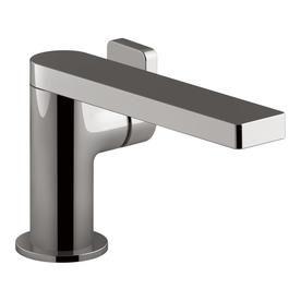 Kohler Composed Vibrant Titanium 1 Handle Single Hole Bathroom Sink Faucet 73167 4 Tt Bathroom Faucets Single Handle Bathroom Faucet Faucet