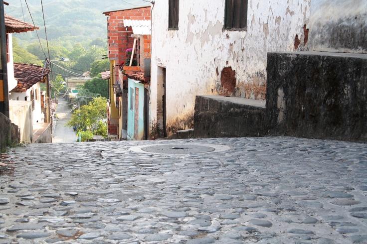 Las calles en piedra