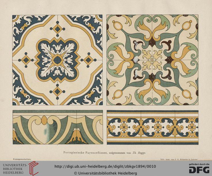 Zeitschrift des Badischen Kunstgewerbevereins zu Karlsruhe (5.1894)