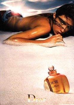 Dune by Christian Dior with Rhéa Durham (2001).