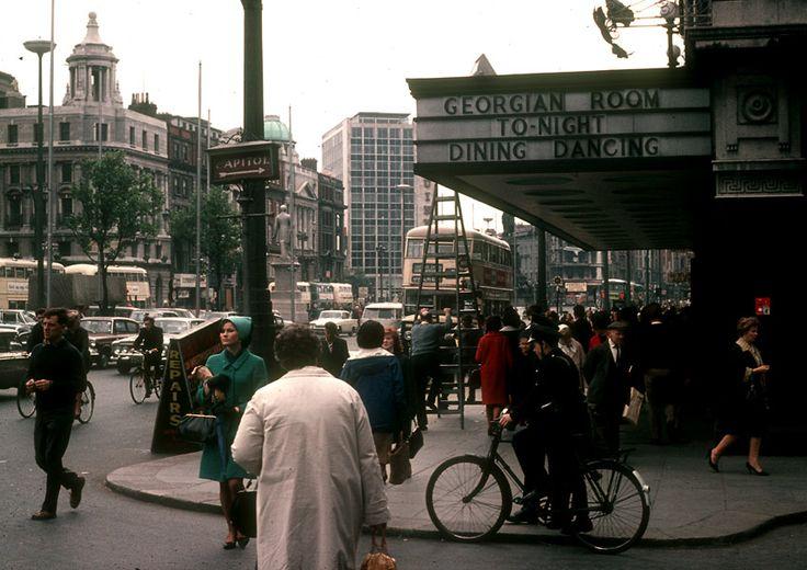 O'Connell Street, Dublin Ireland :: May 1966