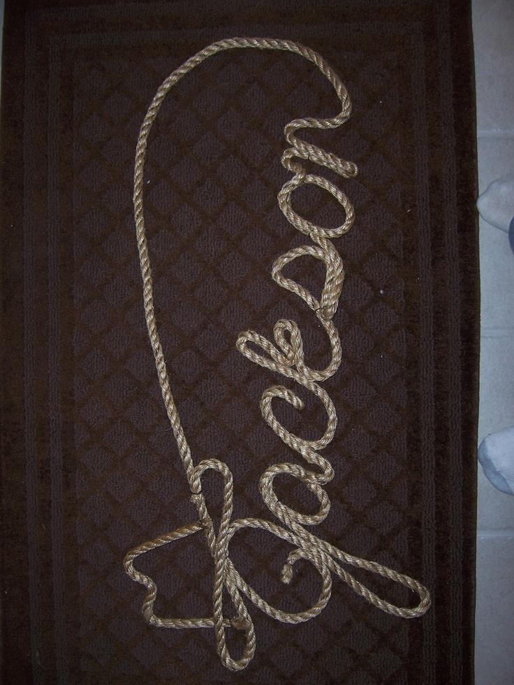 Western Rope Art Rope Art Names Design Etc By Davestock350