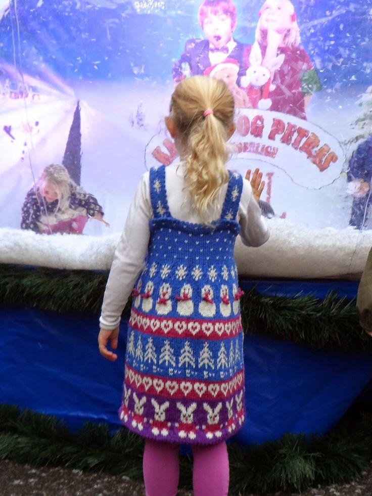 Vår lille prinsesse gleder seg til filmen om Karsten og Petra.
