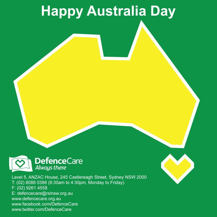 #DefenceCare #AustraliaDay