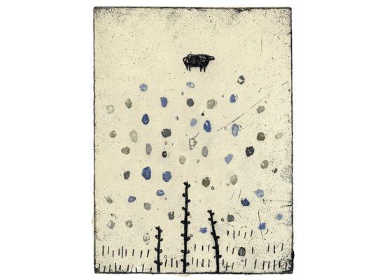 Kumi Obata / The Thing I noticed Today / 今日、気づいたこと / 250×185mm / Bologna Children's Book Fair 2009入選