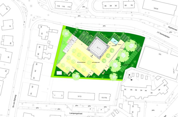 TCC_ Doetinchem moderne moskee minaret_contemporary mosque atelier PUUUR plan