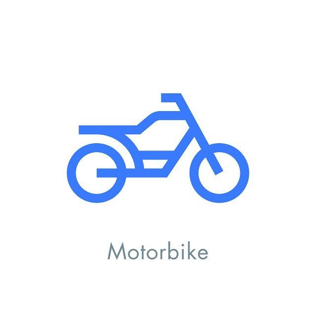Motorbike Icon Design WIP #wip #icon #icondesign #iconic #iconography #iconaday #pictogram #picto #symbol #vector #graphicdesign #graphic #illustration #design #designspiration #minimal #line #stroke #motorbike #motorcycle #bike #transportation #vehicle