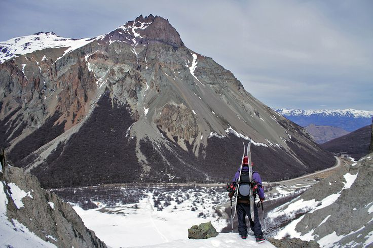 lookout #hermit #patagonia #splitboard #chile