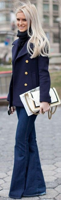 Rags To Riches- Navy sophistication- ♔LadyLuxury♔