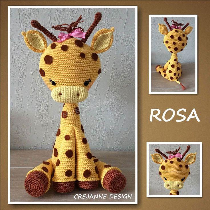 Tutorial Giraffe Amigurumi : 17 Best ideas about Giraffe Crochet on Pinterest Crochet ...