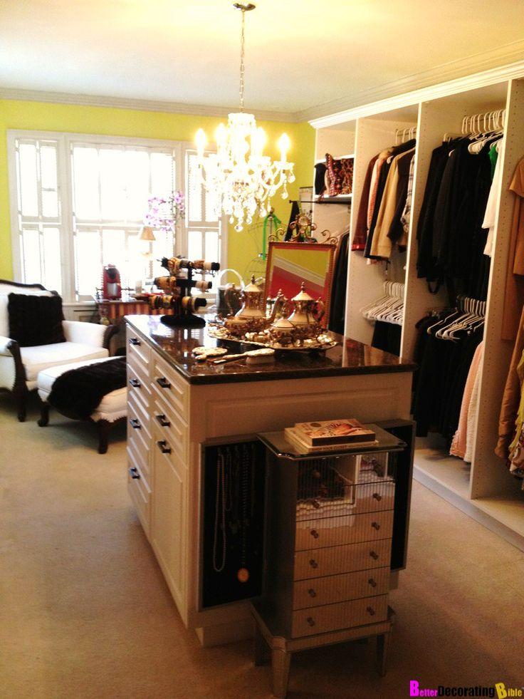 Walk-In Closet Ideas #matildajaneclothing #MJCdreamcloset