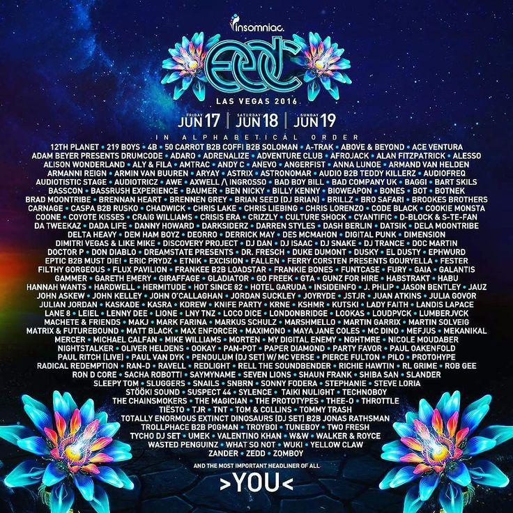 EDC Las Vegas announced lineup today!! Who are you most excited for? #edclv2016 #lasvegas #insomniac #edclv #doornrecords #pandafunk #revealed #buygore #dirtydropz #spinninrecords #edmsf #lasvegasevents #mainstage #edmusa #pastiegirls #electrixity #bitchweunderground by bitchweunderground