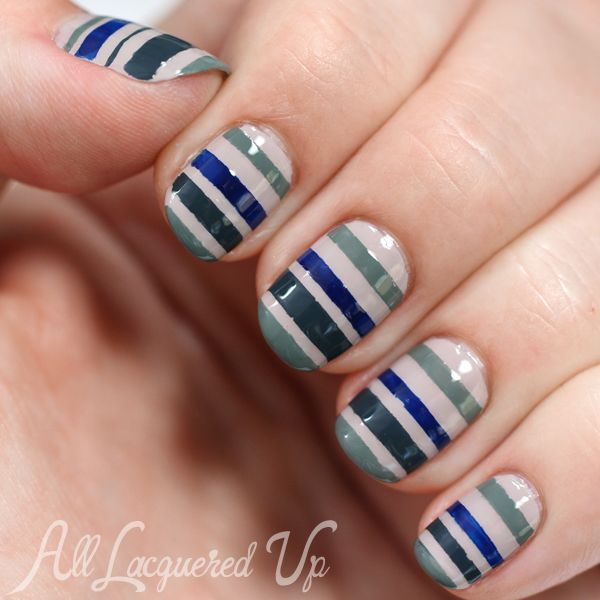 25 unique striped nail art ideas on pinterest hibiscus nail art essie fall 2014 striped nail art for manimonday prinsesfo Gallery