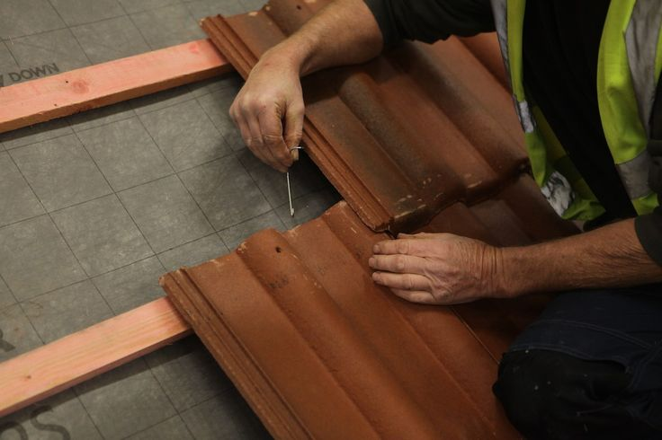 How to stop roof tiles being blown off
