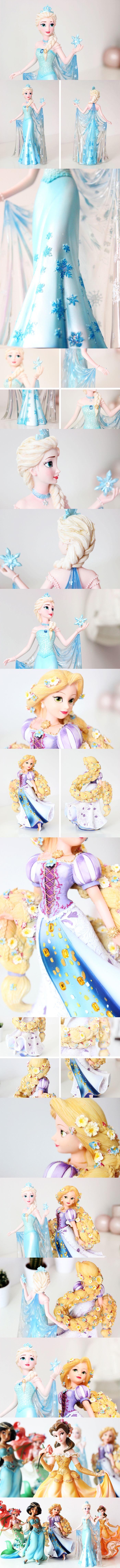 My Disney Princess Couture de Force Collection from Disney Showcase | Rapunzel, Elsa, Belle, Jasmine, Ariel | Frozen | Figurines, collectibles, statues, resin
