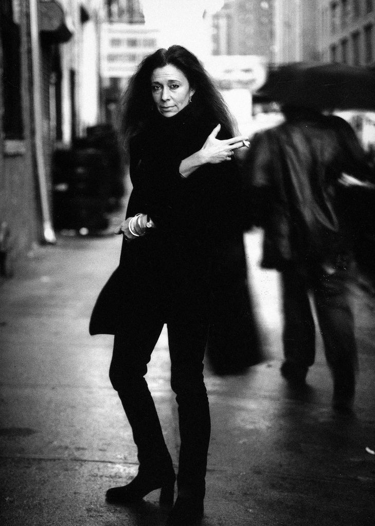 Photo for women series by annie leibovitz jorie graham poet new york city