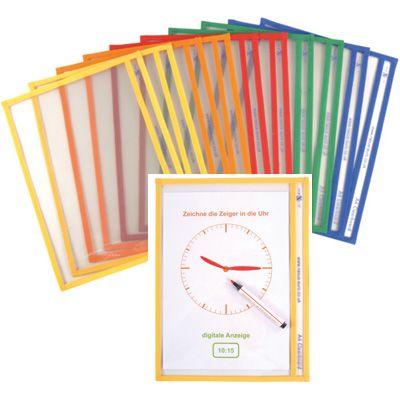 Beschrijfbare sheets - http://credu.nl/product/beschrijfbare-sheets-10-stuks/