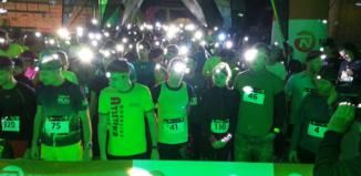 Night Run 2017 rozsvítil centrum města Plzně