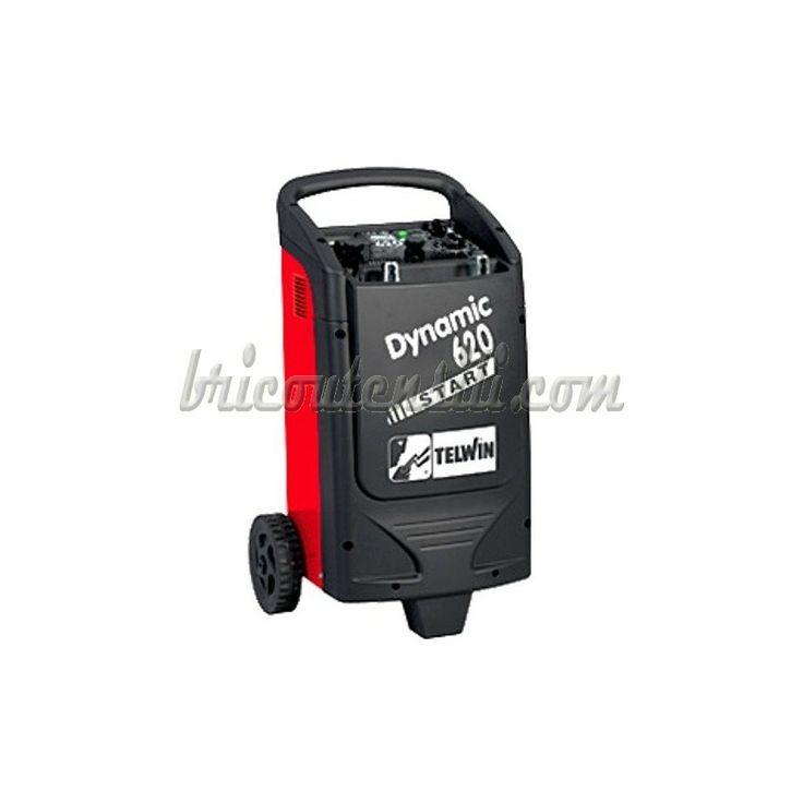 DYNAMIC 620 START 230V 12-24V cod. 829384 Carica batterie e avviatore per la carica di batterie ad elettrolita libero (WET) con tensione di 12/24V e l'avviamento rapido