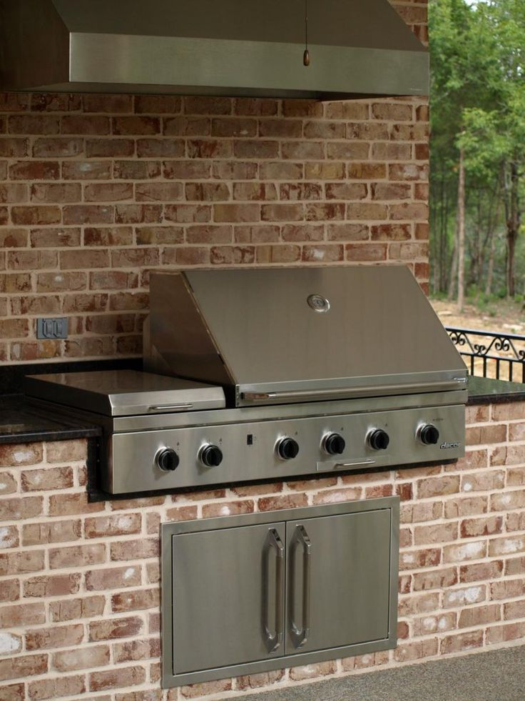 17 best images about outside grill bar on pinterest for Outdoor kitchen grill hood