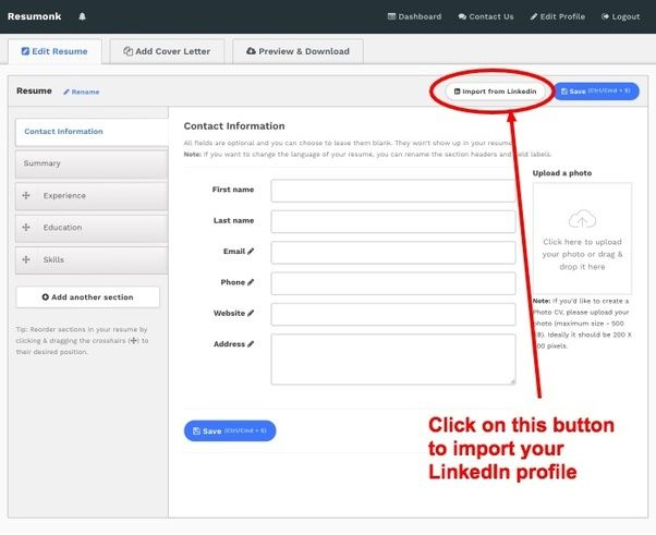 How To Download My Resume From Linkedin Quora Di 2020
