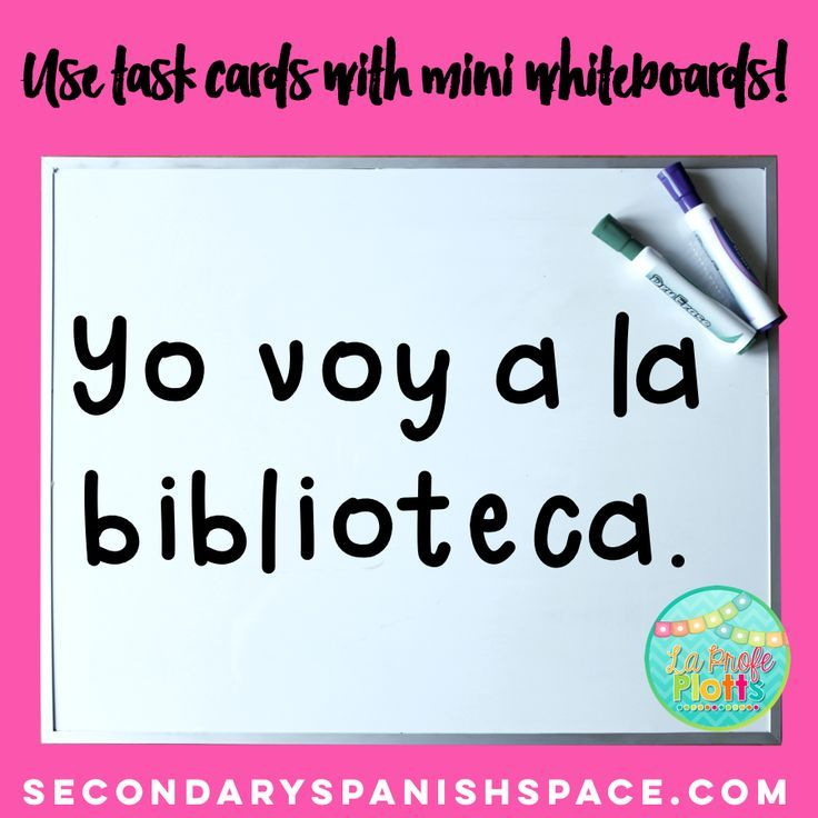 One of SEVEN fun ideas for increasing engagement and understanding with task cards! These work for ANY content area! #taskcards #highschool #spanish