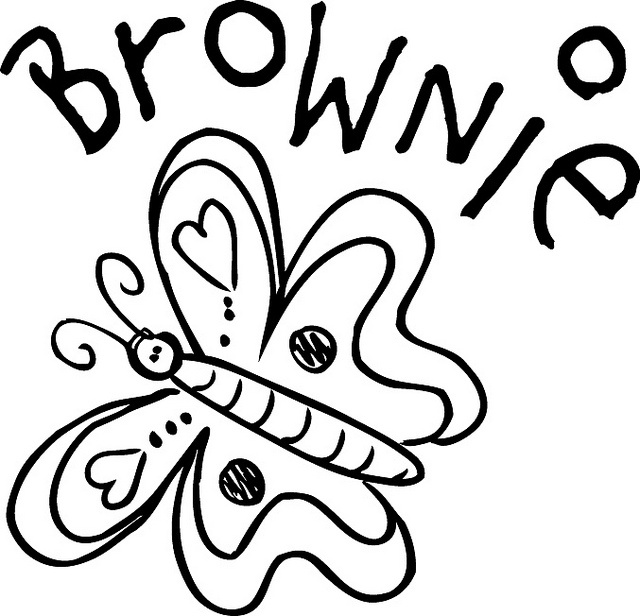 1000 images about girl scout clip art brownie on pinterest for Brownie coloring pages printable