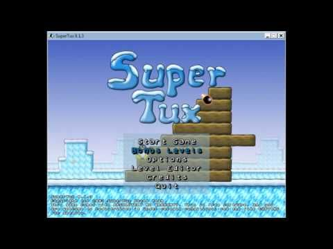 """SuperTux - Playing Level - """"Mario's Supposed to Deal with This..."""" Shortcut from Level Editor - YouTube"""