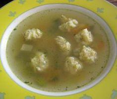 Rezept Käsenockerl/Käseklößchen als Suppeneinlage von Ritzicook - Rezept der Kategorie Grundrezepte