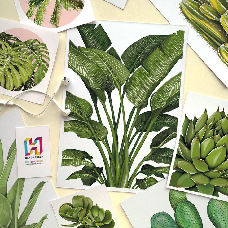 Handmadely: Plant Prints