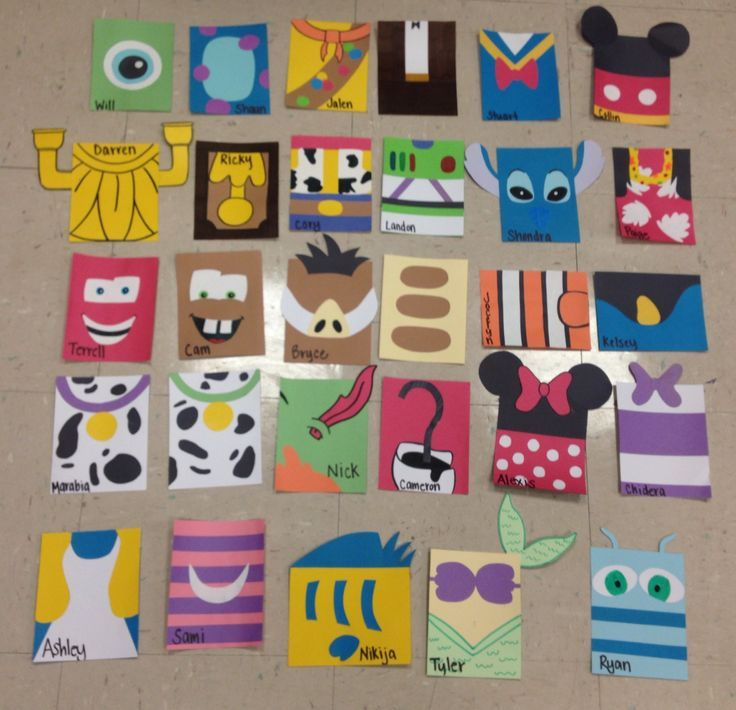 ResLife Crafts, Disney Door Decs