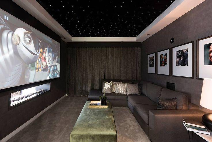CINEMA ROOM | COMFORTABLE AND SPACIOUS | MANHATTAN 44 - ORAN PARK | #WISDOMHOMES