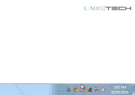 How to show and hide taskbar icons in Windows 7