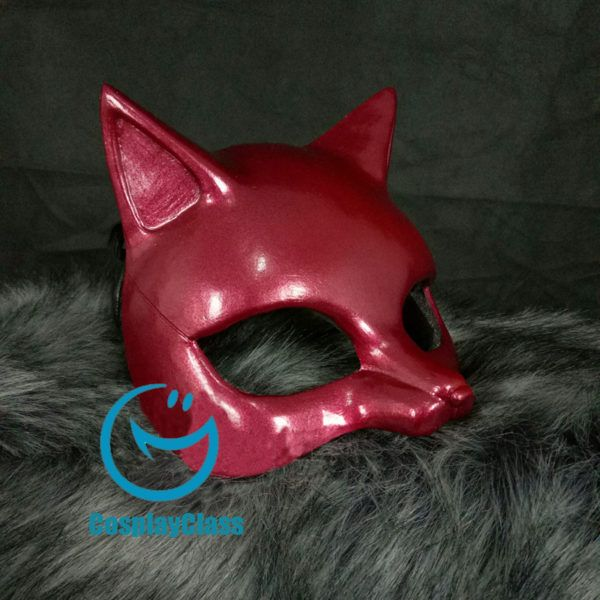 Persona 5 P5 Takamaki Ann PANTHER Cosplay Mask Prop – CosplayClass  #persona5 #TakamakiAnn #cosplaymask #cosplayclass