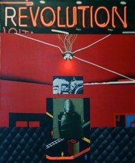 REVOLUTION <br />(Rainbowroom n4)<br />cm 120 x 100 - 2012<br />