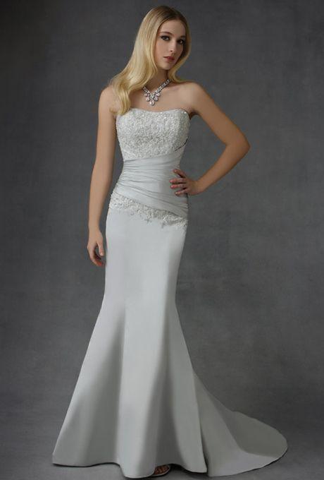 Amazing Cosmobella Satin Wedding GownsSatin