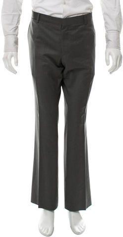 Burberry London Wool Flat Front Pants