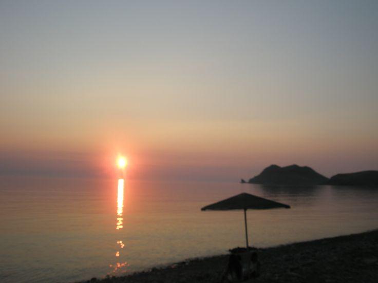 sunset-Agios Ioannis beach-Limnos island