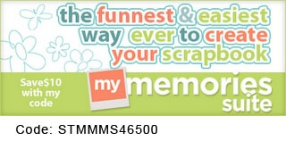 Making a Scrapbook  MyMemories Suite will help you create your beautiful pages from scratch or build an entire album. Save with this code: STMMMS46500.