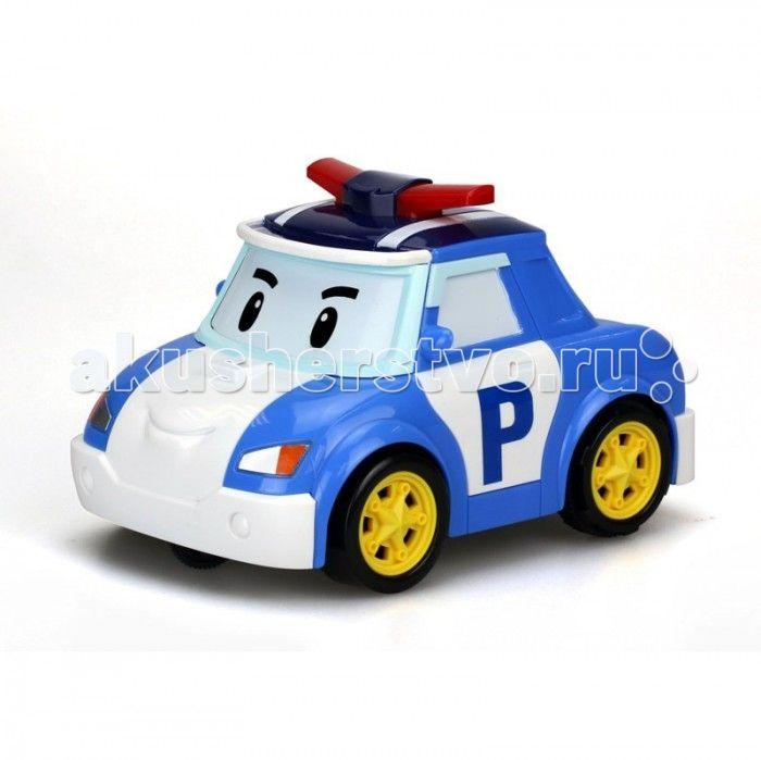 """Silverlit Машинка Поли на голосовом управлении  Silverlit Машинка Поли на голосовом управлении представляет собой радиоуправляемую машинку в виде Поли - одного из главных персонажей известного мультика Robocar Poli. В мультсериале """"Робокар Поли и его друзья"""" Поли - полицейская машинка, стоящая на страже порядка.  Данная машинка, в отличие от привычных автомобилей на радиоуправлении, на голосовом управлении, то есть """"повинуется"""" голосу хозяина. Управлять машинкой со звуковыми эффектами…"""