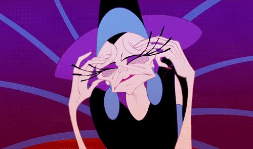 23 Signs You're Totally A Disney Villain. I just realized I am Yzma from the Emperor's New Groove.
