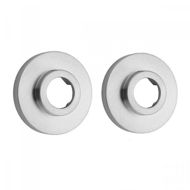 Jaclo :: Brass Contemporary Shower Curtain Rod Flanges