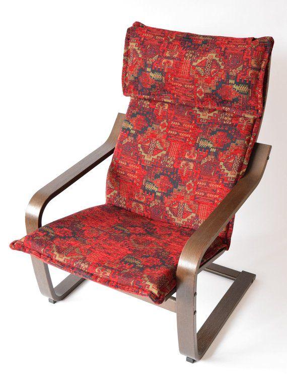 Ikea Poang Chair Cushion Fabric Cover F01