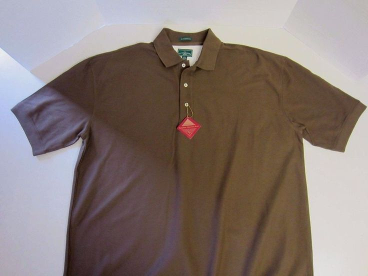 Outer Banks Polo Shirt 2XL Short Sleeve Brown Egyptian Cotton NEW CLEARANCE SALE #OuterBanks #PoloRugby