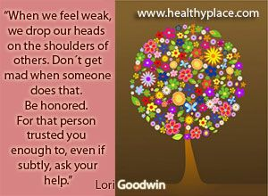Click To KnowWill 2017 Be Your BIG Year? How to Help and Support Someone with Depression www.healthyplace....