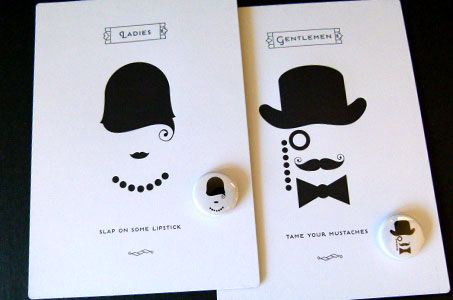 Marvelous tongue in cheek 1920s, Prohibition-inspired open house invitation from the design team at Fame Retail.
