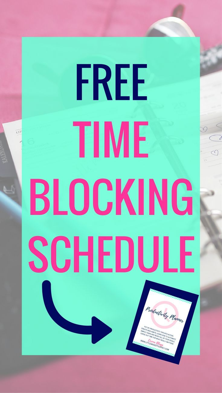 Free Time Blocking Schedule Time Management Tips | Time Management | Time Management Printable | Time Management for Moms | Time Management System | Time Management at Work | Time Management Strategies | Time Management Planner | Time Management Activitie