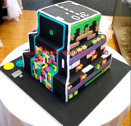 The  Best Images About Amazing Cakes On Pinterest Video Game - Video game birthday cake