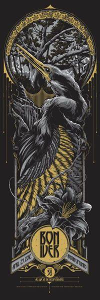 Bon Iver..........    DESIGNER:Ken Taylor    Designer Posters    VENUE: Austin City Limits  Austin, TX USA