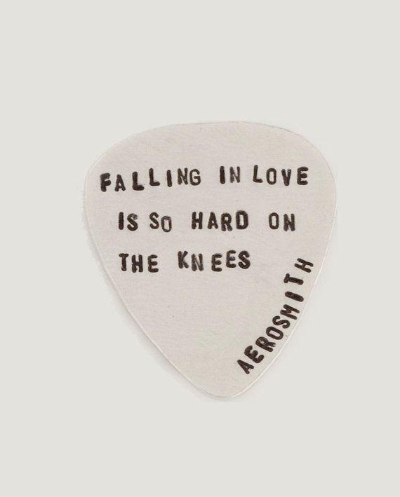 Aerosmith Tiny Type guitar Pick